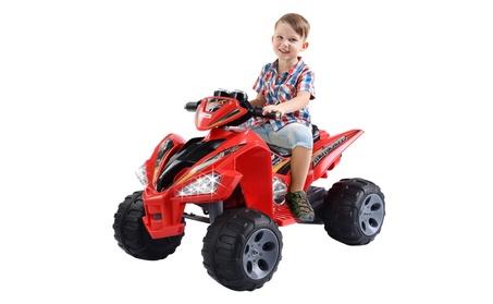 Kids ATV Quad 4 Wheeler Electric Toy Car 12V Battery Power Led Lights 1849ef39-6144-43f6-af0b-6b560850cb5b