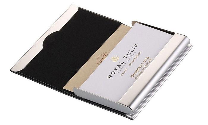 Office Depot Card Holders 96 Cards Black