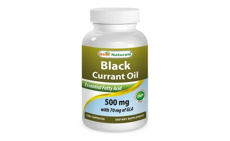 Best Naturals Black Currant Oil 500mg 100 Softgels f3b74f49-2b8a-4c29-98d8-c7148e137d1d
