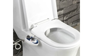 Luxe Bidet 320 Dual Nozzle Self-Cleaning Hot-and-Cold Bidet Attachment