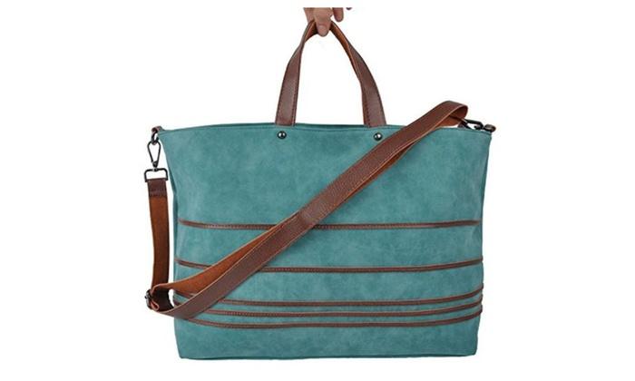 f5d8be892d ROPPER Women s Fashion Leather Top-Handle Laptop Shoulder bag ...