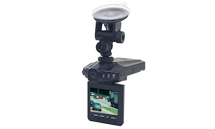360 Degree Rotating Car Dashboard Camera Driving Video Recorder