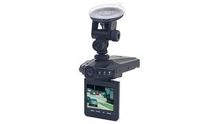 360 Degree Rotating Car Dashboard Camera Driving Video Recorder