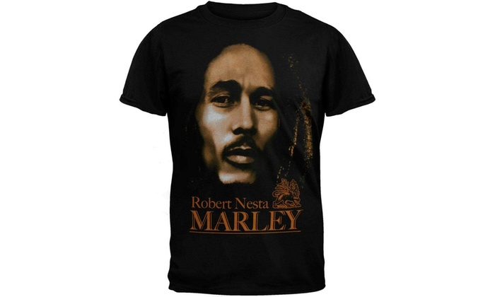 35e90c02ff8 Up To 59% Off on Bob Marley - Mens Look Ii T-S...