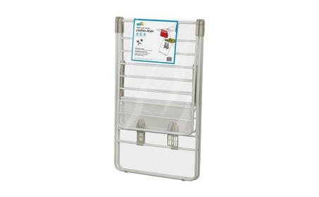 Honey-Can-Do DRY-01610 Heavy Duty Gullwing Drying Rack, White 90b84064-1263-4ea9-af20-29c5072e6b58