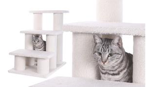 Armarkat Classic Pet Steps, 3-steps, Model B3001, Ivory