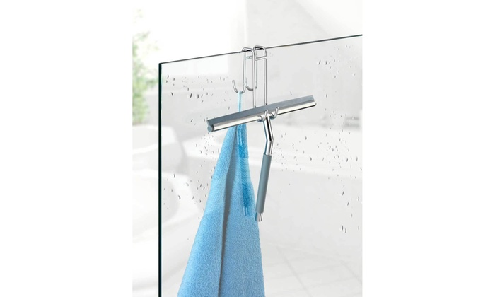 Window Glass Stainless Steel Wiper Cleaner Squeegee Shower Bathroom