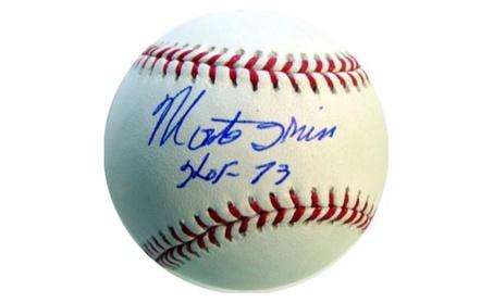 Autographed Monte Irvin New York Giants Official MLB Baseball 178b2a18-f2bd-489f-b2f0-218e7b10c9f9