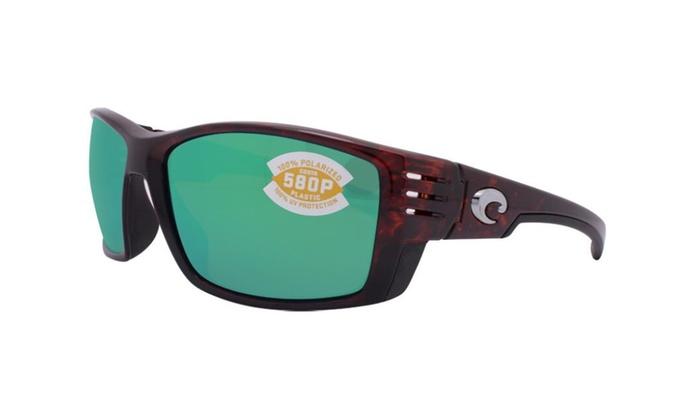 Costa Del Mar Cortez CZ 10 OGMP Tortoise / Green Mirror 580P Polarized