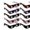 Solar Eclipse Glasses ISO Certified CE Approved 1- 3- 5- 10- Pack