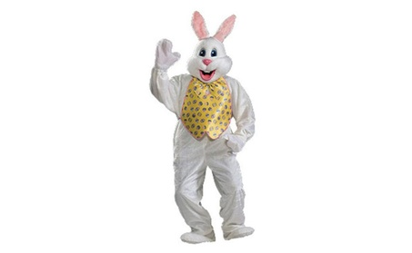 Rubies Costume Co 34363 Deluxe Easter Bunny Adult Costume Size One-Siz 7ea787ae-f14a-495e-8407-a6889c1eec18