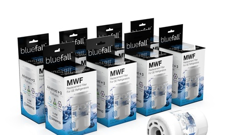 8 Pack GE MWF Refrigerator Water Filter Smartwater Compatible Filter photo