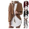 Autumn Long Sleeve Irregular Thin Sweater Slim Elegant Outerwear