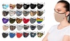 Dual-Layer Reusable Protective Face Masks With Adjustable Earloops (6-Pack)