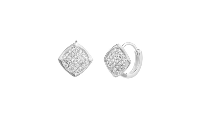 up to 70  off on sterling silver 11mm cz squar