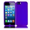 Insten For Apple Iphone Se 5s 5 Shiny Single Case Skin Dark Purple