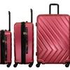 V19.69 Italia Arrow Expandable Spinner Luggage Set (3-Piece)