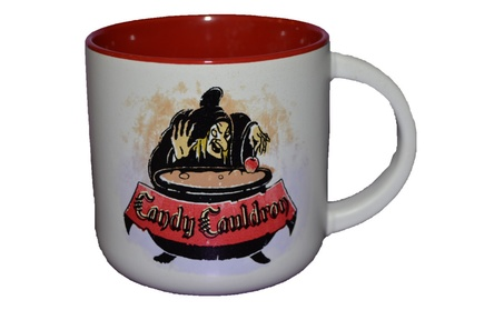 Authentic Disney Parks Evil Queen as Hag Candy Cauldron Coffee Mug Cup 2e2d02fb-6f2a-4687-b0d1-bb46eb262113