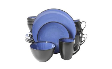 Soho Lounge Round 16 Piece Dinnerware Set