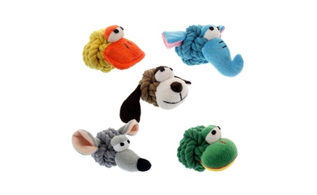 Multipet Rope Head Dog Toy c58bedfb-1b66-4e45-b6b6-1e2cca48abba