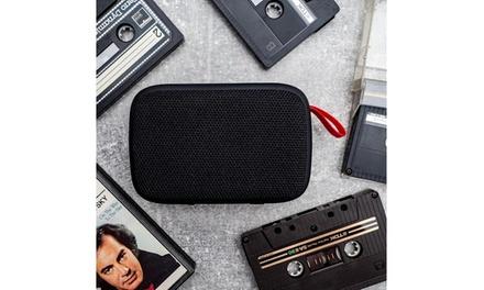Altavoz con Bluetooth y diseño minimalista Forever