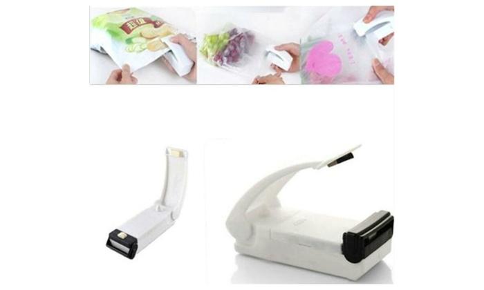 Mini Portable Plastic Bag Sealing Tool Groupon