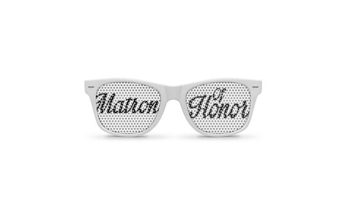 Matron of Honor Retro Party Sunglasses