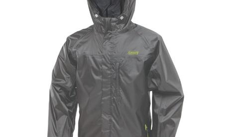 Coleman Rainwear Danum Jacket Grey/Green Medium
