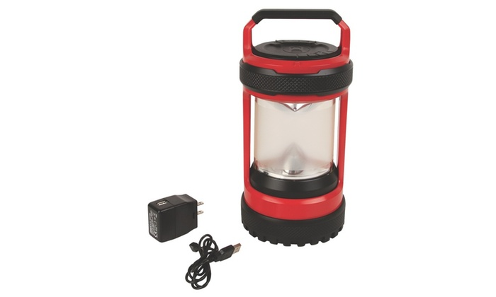 Coleman Conquer Spin 550l Rechargeable Led Lantern Groupon