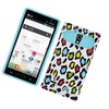 Insten NightGlow Leopard Jelly Hybrid Hard Case For LG Optimus L9 P769 Colorful