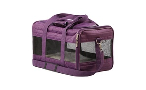 Quaker Pet Group SH55544 Sherpa Bag Original Deluxe, Medium - Plum