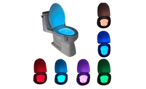 8 Colors LED sensor motion Activated toilet night light at shop1306, plus 6.0% Cash Back from Ebates.