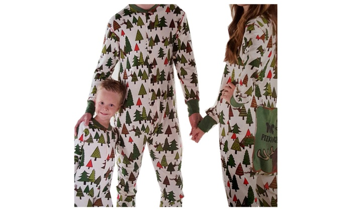 Adult flapjack onesie matching christmas family pajamas groupon
