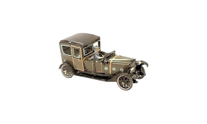 "Clickhere2shop: Alexander Taron Collectible Tin Toy - 1930's Limo - 3""H x 3""W x 7""D"