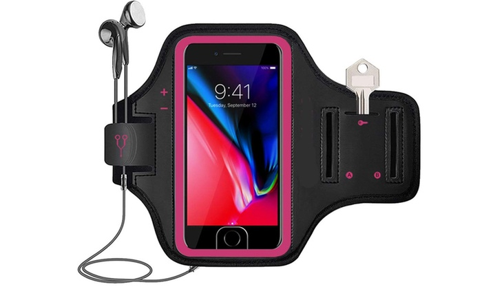 promo code ef72a 0a455 Phone Armband Gym Running Workout Arm Band Case for Smartphone