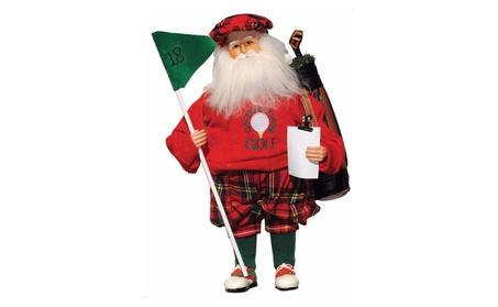 "Santa's Workshop Seasonal Décor 15"" I'd rather Be Playing Golf 5aeb58f1-bd00-43c3-a090-6ba6965adb89"