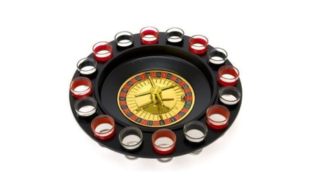 Shot Glass Roulette - Drinking Game Set (2 Balls and 16 Glasses) 99dc732f-77fd-4292-ab53-cafcf392d01c