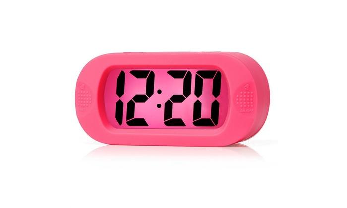 Digital LCD Travel Alarm Clock