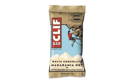 CLIF BAR - Energy Bar - White Chocolate Macadamia 12 count