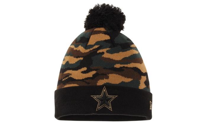 Dallas Cowboys Camo Captivate Knit Hat