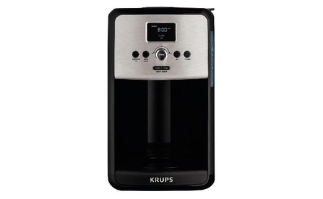 Krups Ec314050 Savoy 12-cup Coffee Maker, Stainless Steel 43456105-aee4-4a1a-98ce-bc0f4153bedd