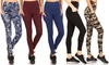 Women's Phone Pocket Full Length Active Leggings with Plus Size