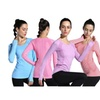 LINGO Women's Long Sleeve Activewear Yoga T-Shirt Tops