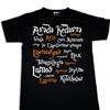 Harry Potter Spells Womens T-shirt Movie Fun Magic Nerdy Geek Sorcerer