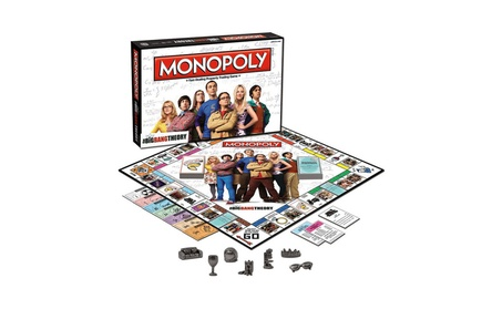 Usaopoly USAMN010371 The Big Bang Theory Monopoly Game 9020c56d-cfd6-4226-9a57-d59223e8796e
