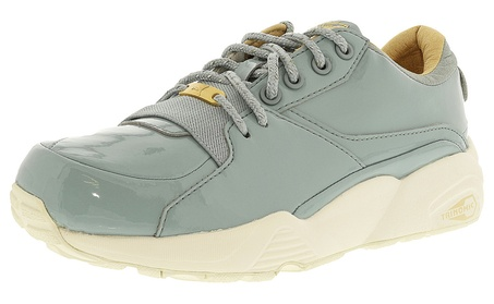 Puma Women's R698 Patent Nude Fashion Sneakers 90d743ab-2e63-4d64-be17-61d15a86baa9