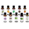 10-Pack of Aroma Oils and Ultrasonic Diffuser Bundle