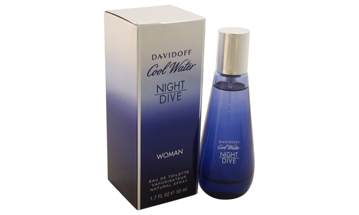 Zino davidoff cool water night dive women 1 7 oz edt spray - Davidoff night dive ...