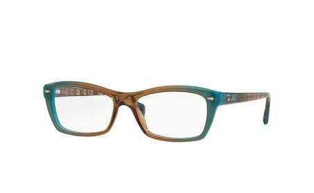 Ray Ban RB5255 Blue Eyeglasses 1b085473-bebf-4212-8d22-eff9d9a08b4f
