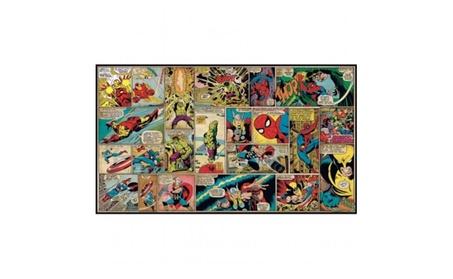Roommates JL1290M Marvel Classics Comic Panel Mural 6 ft. x 10.5 ft. 501c7b70-b5e7-47d1-a5c5-37990b621c03